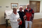 Chris Richards & Colin Wagstaff Pairs Plate Winners