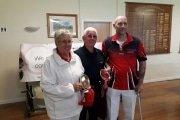 Chris Richards & Colin Wagstaff Pairs Plate Winners