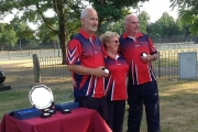 David Fisher and Mac Otton Pairs semi-finalist
