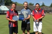 Singles Finalist 2018 presenter Bowls England's Matt Wordingham