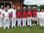 Disability Bowls England v Bowls England President Michael Jennings Select Team