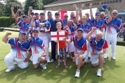 England Disability Bowls winning team