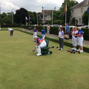 Disability Bowls August A Great Success