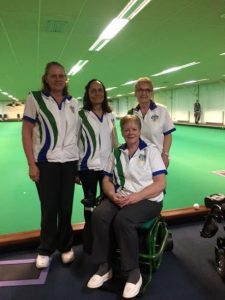 Pauline Shanley 4's squad EIBA National Finals