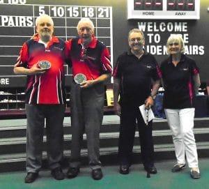 DBE Maiden Pair Plate Winners 2017