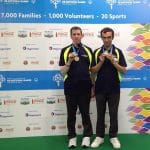 Barry Nicholson and Lucas Manousios, Gold Medalists Open Pairs