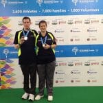 Steven Nicholson and Gemma Woodhead, Gold Medalist Mixed Event