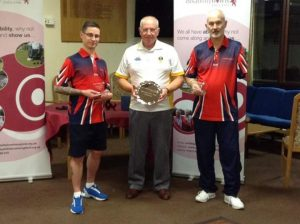 Champions Jonathan Stokes & Dave Fisher