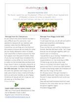 December Newsletter thumbnail