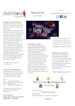 January 2021 Newsletter thumbnail