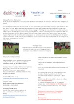 April 2021 Newsletter thumbnail