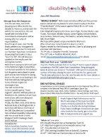 DBE June Newsletter