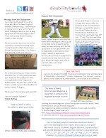 DBE Newsletter August 2021